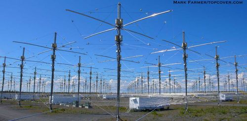 Haarp picture 50  Aurora borealis = finger print of Haarp project Blue Beam
