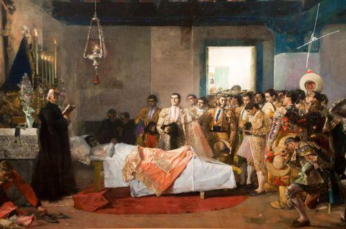 La Muerte del Torero - Jose Villegas