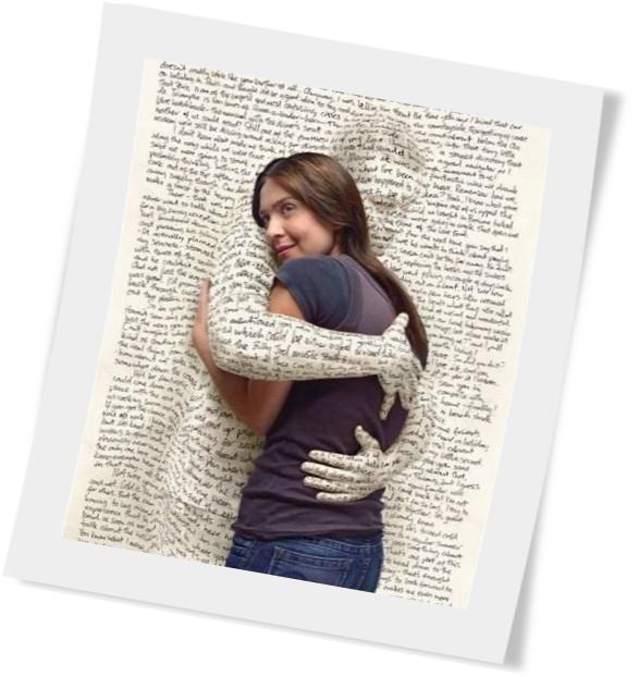 Libro abraza
