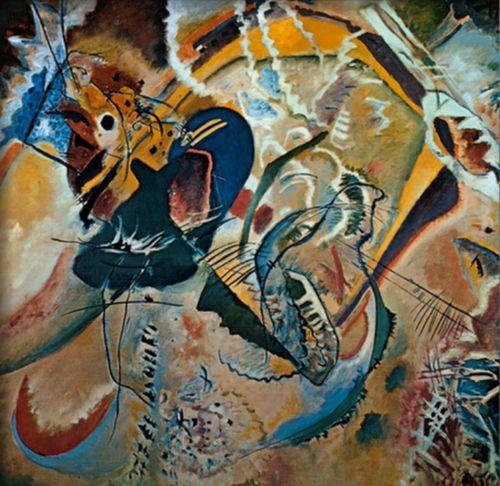 Improvisacion 35, 1914, Kandinsky Wassily